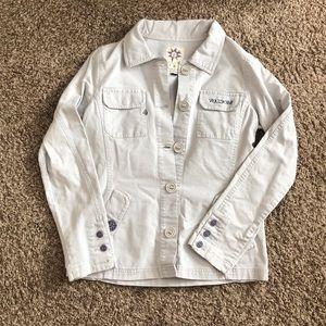 Volcom Tan Canvas Jacket